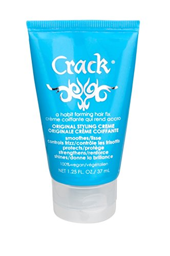Crack: Original Anti-Frizz Improved-Shine Styling Treatment Creme, 1.25 Ounce