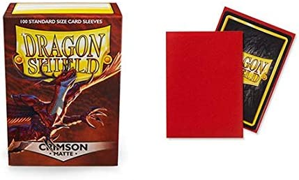 Dragon Shield Matte Art Empire State Dragon Standard Size 100 ct Card Sleeves Individual Pack