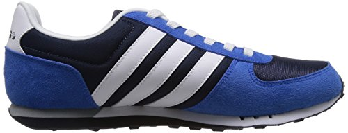 Adidas - City Racer - F38451 - Color: Azul-Blanco-Negro - Size: 44.0