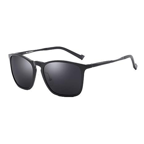 ZHAO YING - Gafas de Sol polarizadas, Espejo de conducción, Aluminio y magnesio Black