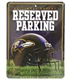 NFL Baltimore Ravens Hi-Res Metal Parking Sign