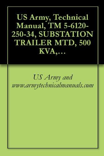 3 Kva Models (US Army, Technical Manual, TM 5-6120-250-34, SUBSTATION TRAILER MTD, 500 KVA, AC, 416Y/240 V, 208Y/120 V, 3 PHASE, 50/6, (AVIONICS MODEL 950-2200A), (FSN)