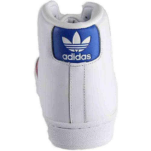 Adidas Pro Model Herresko Ftwwht / Blå / Rød Hvid k5ubiWLJY