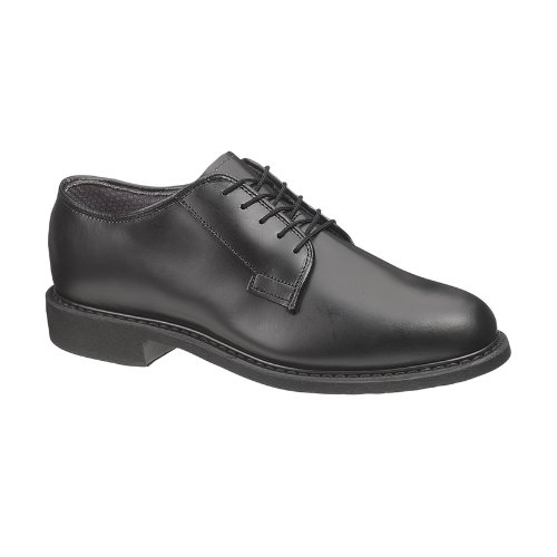 - Bates Men's Leather Uniform Oxford (13.5 E in Black)