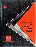 1993 GMC Sonoma Pickup and Jimmy Repair Shop Manual Original