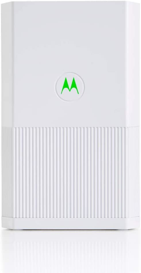 Motorola Whole Home Mesh WiFi Satellite, AC2200 Tri-Band Mesh WiFi Add on, up to 3,000 sq ft (MH7021), White