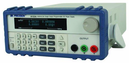 B&K Precision 9122A Single Output Programmable DC Power Supply, 2.5A, 60V by B&K Precision