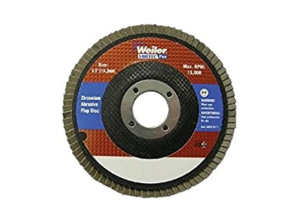 Amazon.com: Weiler 31345 Disco abrasivo de grano 60, 4 – 1/2 ...