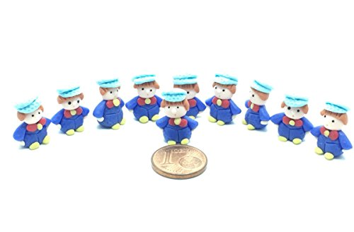 10 pieces of Miniature little boys Figurine for Decoration in Dollhouse, Fairly Garden or Succulent terrarium, (Diy Mrs Claus Costume)