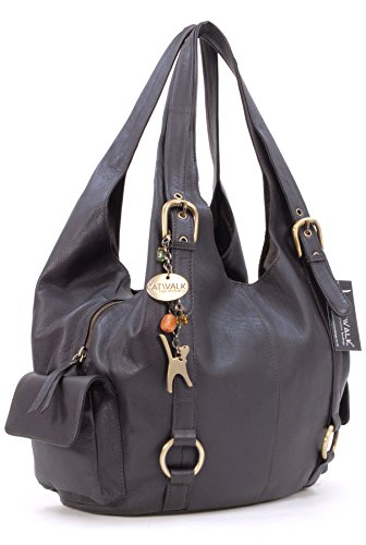à Alex Catwalk Marron Collection signé cuir en Sac main 6Sqd6f