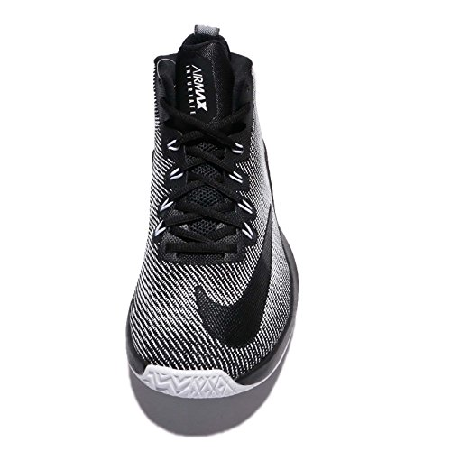Nike Mens Air Max Infuriate A Metà Ep, Nero / Bianco Nero / Bianco