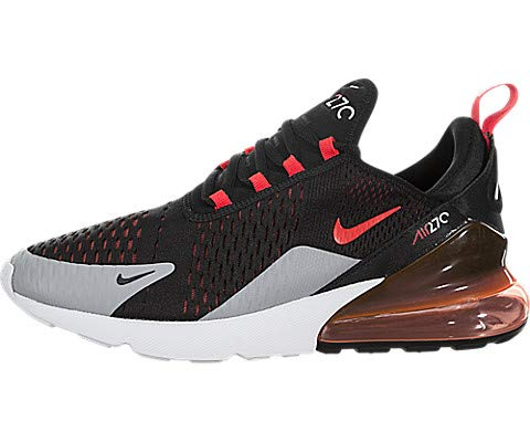 Nike Men's Air Max 270, Black/Bright Crimson, 9 M ()