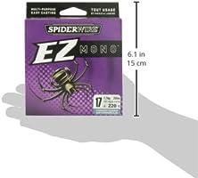 SpiderWire EZ Fishing Line Braid//Fluorocarbon//Monofilament