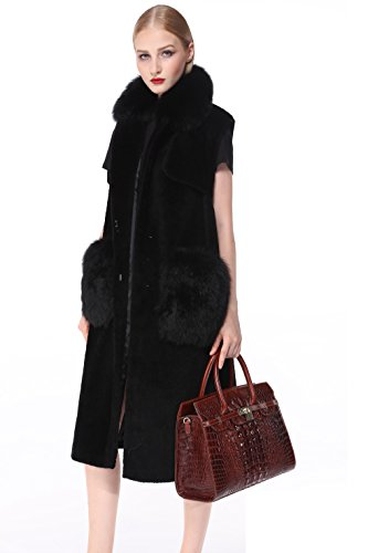 PIJUSHI Crocodile Handbags And Purses Satchel Office Padlock Handbag For Women 22130 violet by PIJUSHI (Image #2)
