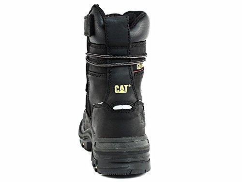 Caterpillar Men's Mortise 8'' Waterproof Work Boot Composite Toe Black 11.5 D(M) US by Caterpillar (Image #3)