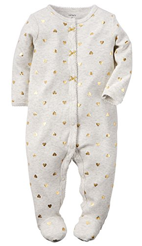 carters-baby-girls-cotton-sleep-play-6-months-gold-foil-hearts
