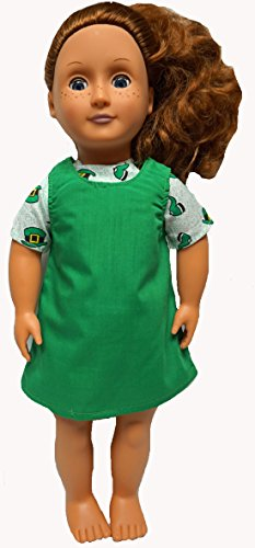 18 Inch Doll Clothes Jumper & Blouse Fit American Girl, Our Generation Doll