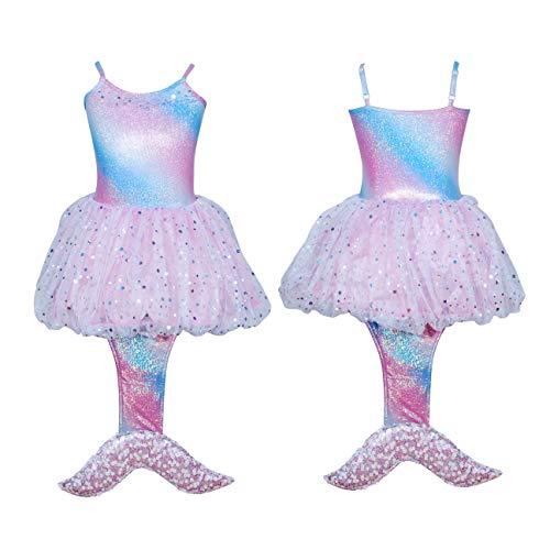 Pink Poppy Mystic Mermaid Dress Size 5/6- Pale Pink]()