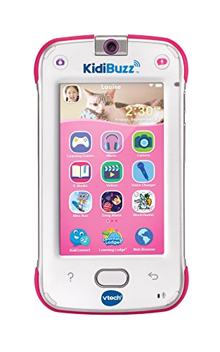 VTech KidiBuzz, Pink (Best Electronic Learning Devices For Toddlers)