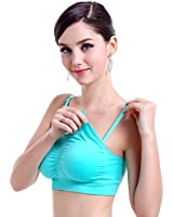 Cotton Whisper Seamless Nursing Bra - Comfortable Spandex T-Shirt Bra