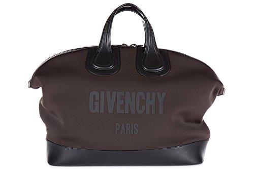 Givenchy bolso de mano hombre nuevo vintage nightingale marrón