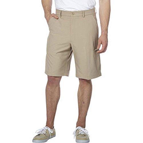 - Pebble Beach Men's Performance Plaid Short,(Size 36, Khaki)
