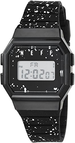 neff Adult's Flava Digital Athletic Water Resistant Watch Unisex