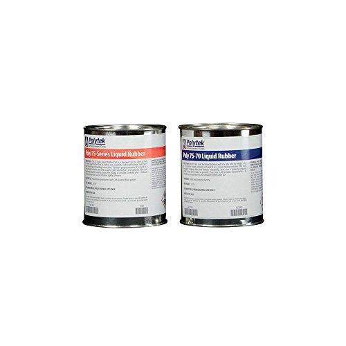Polytek 75-70 Liquid Polyurethane Rubber (4lb Kit)