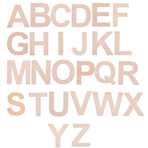 A to Z Wood Craft Letters