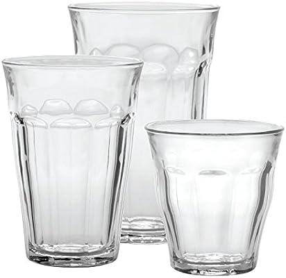 Duralex Picardie Carafe 1 Litre with 4 16 cl Duralex Picardie Glasses