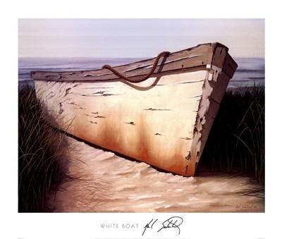 (Karl Soderlund - White Boat)