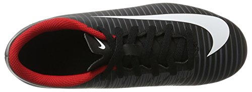Nike Jr Mercurial Vortex Iii Fg, Botas de Fútbol Unisex Bebé Negro (Black/White/Dark Grey)
