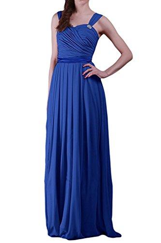 azul mujer trapecio real Topkleider para Vestido FwxRaSqW86