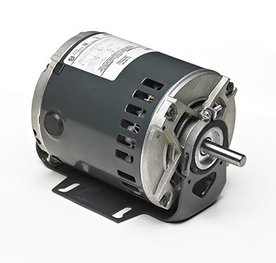 Marathon 4730 48Y Frame 5KH39QN9725T Open Drip Proof Belt Drive Motor, 1 Split Phase, Resilient PDQ Mounting, Ball Bearing, 1/4 hp, 1725 rpm, 1 Speed, 115 VAC Split Phase Open Pdq Mounting