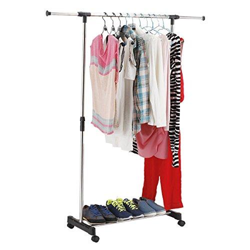 clothes-hanger-adjustable-single-rail-rolling-garment-rack-with-break-wheels-stainless-steel-portabl