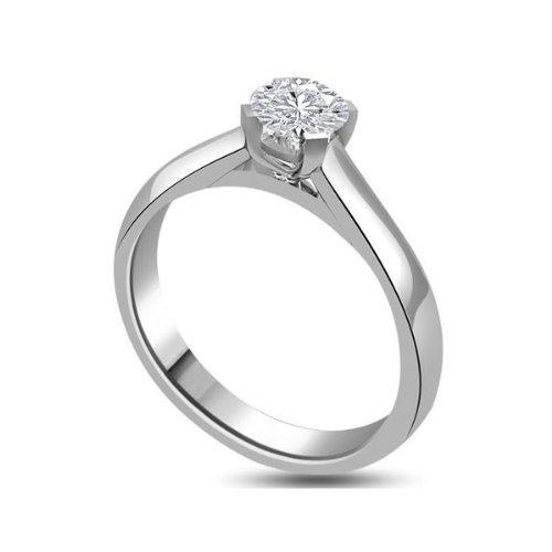 consegna veloce autentico bambino Anello di fidanzamento, con diamante 0,25 carati per Women ...