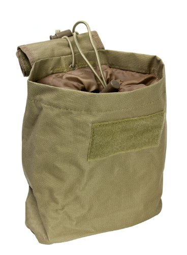 VISM by NcStar Folding Dump Pouch/Tan (Molle Gear Pouches compare prices)