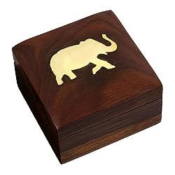 Wooden Jewellery Box by ShalinIndia