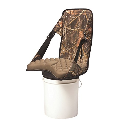 SPLASH Bucket Buddy Chair, Camo/Stone (Seats Ice Fishing)