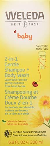 Weleda 2in1 Gentle Shampoo + Body Wash, 6.8-Ounce
