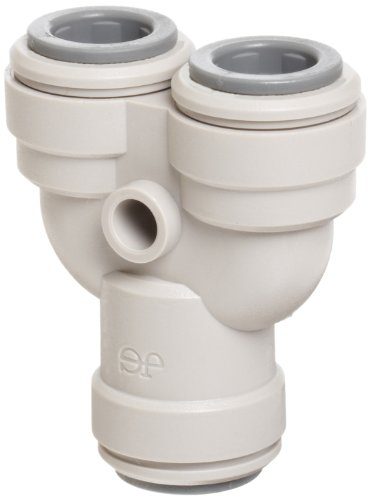 John Guest Pipe Fittings (John Guest Acetal Copolymer Tube Fitting, Two-Way Divider, 1/4