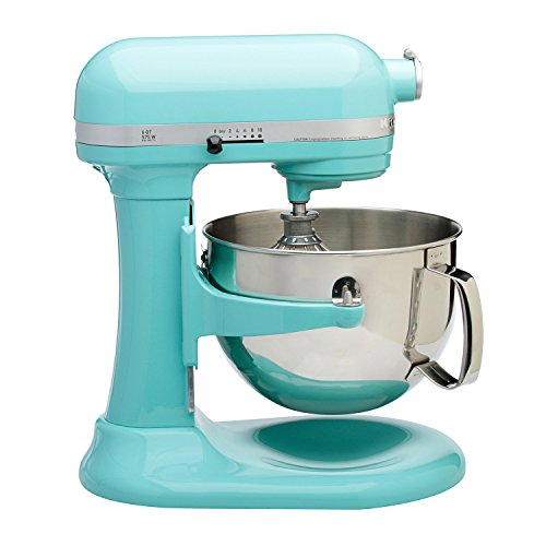 Kitchenaid Professional 600 Stand Mixer 6 quart, Azul Blue (Certified Refurbished) (Kitchenaid Stand Mixer Blue)