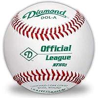 Diamond DOL-A Official League NFHS Baseball (paquete de 12)