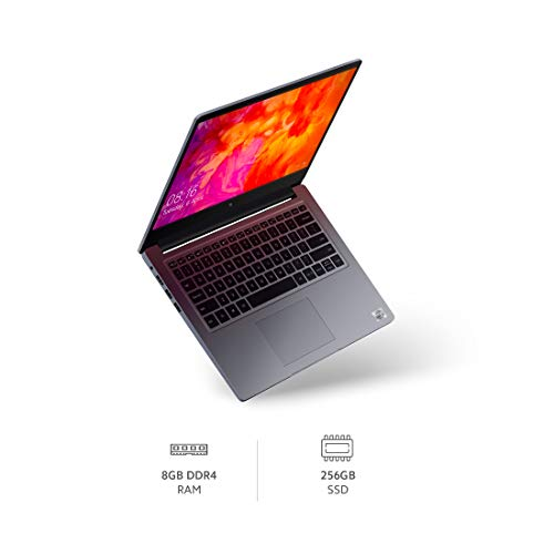 Mi Notebook 14 Intel core i3-10110U 10th Gen Thin and Light Laptop (8GB/256GB SSD/Windows 10, Home/Intel UHD Graphics/Silver/1.5Kg), XMA1901-FI