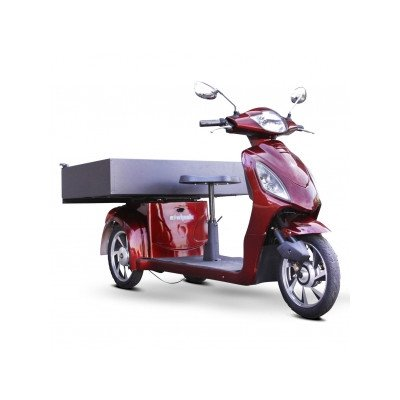 Electric Utility Vehicle with Cargo Box