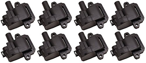 Pack of 8 Ignition Coils for CTS Chevrolet GMC Firebird Workhorse V8 Compatible with C1144 UF192 12556450 12558948