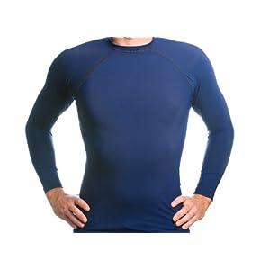 80807f91baa9 Deals For Beach Depot Men's Navy Long Sleeve Rash Guard SPF 50+ Swim Shirt  Economy size -