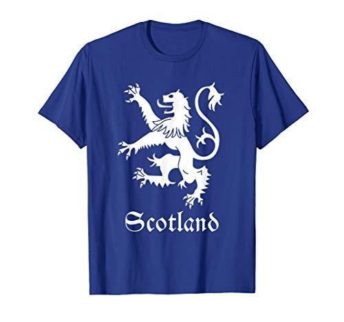 (Scottish Lion Rampant T-shirt Scotland Coat Arms Gift Crest)
