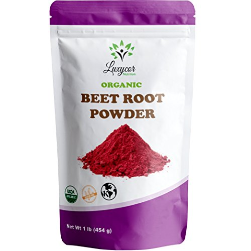 Organic Beet Root Powder – 100% All Natural and Kosher (16 OZ) For Sale