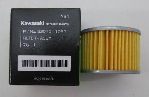Kawasaki OEM オイルフィルター 52010-1053 KFX450R KX450F エリミネーター 125 KLX250 140